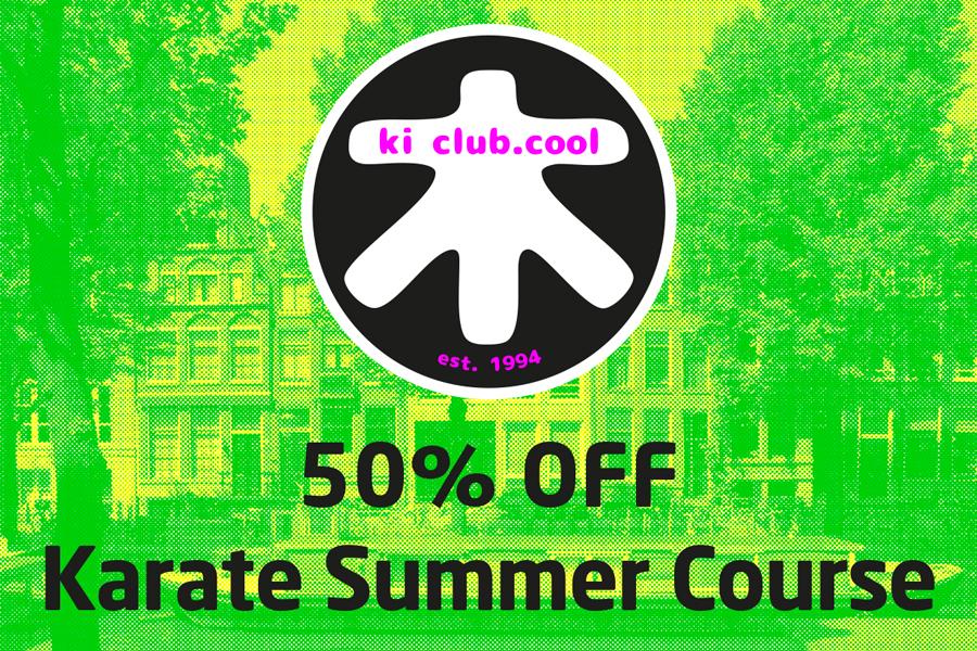 50% off summer karate course - Zomer karate programma [*2019]-karate summer school organized by Amsterdam karate school ki club.cool Amsterdam | karate-amsterdam | shotokan-amsterdam | Amsterdam | karate | ki